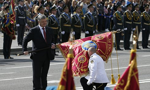 Парад ко Дню Независимости в Киеве