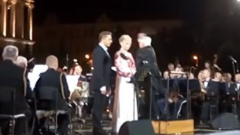 Выступление Марии Максаковой на день Независимости Украины. Видео