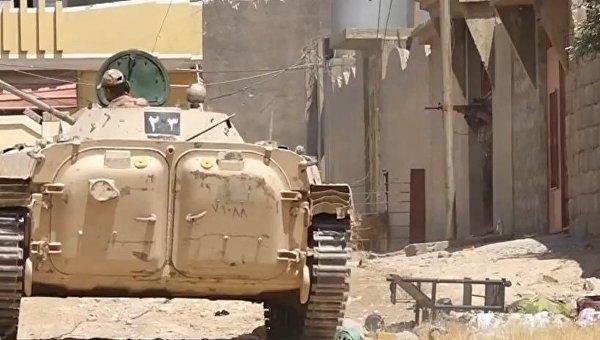 Боевые действия в городе Талль-Афар