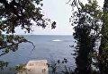 Взрыв на пляже в Ялте. Видео