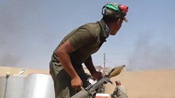 Зачистка от боевиков последнего оплота ИГ в Ираке. Видео