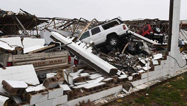 В 2017г стихийные бедствия нанесли США рекордный вред