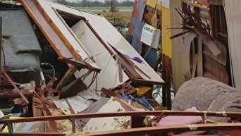 Последствия урагана Харви в Техасе. Видео