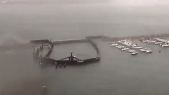Тайфун Пакхар в Гонконге