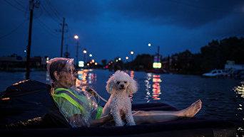 Наводнение после урагана Харви в Техасе
