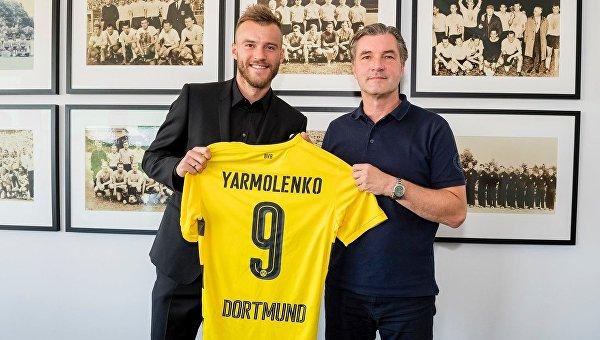 Андрей Ярмоленко (слева)