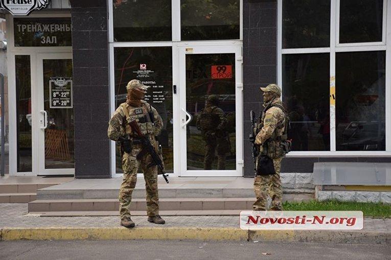 Обыски в Николаеве