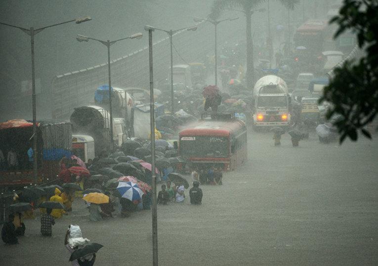 По меньшей мере 514 человек погибли в результате наводнений в индийском штате Бихар в августе