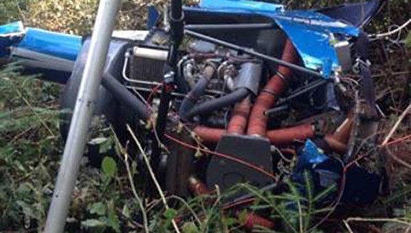 Крушение вертолета в Прикарпатье