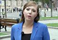 Российская журналистка Анна Курбатова, работавшая в Украине