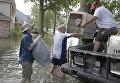 Последствия наводнения в Техасе