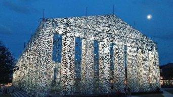 В Германии построили Парфенон из сотни тысяч запрещенных книг