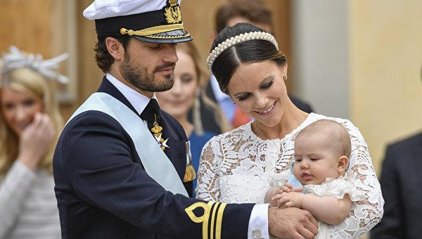 Принц Швеции Карл Филипп и принцесса София