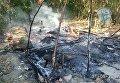 Пожар в цыганском таборе в Ивано-Франковске