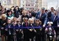 Петр Порошенко принял участие в открытии новой общеобразовательной школы Мобиль во время рабочей поездки в Харьковскую область