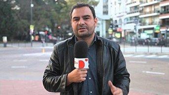 Испанский журналист Мануэль Анхель Састре