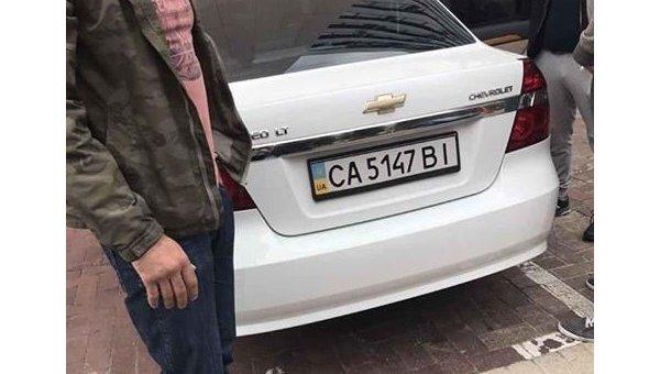 На месте задержания Давида Саакашвили