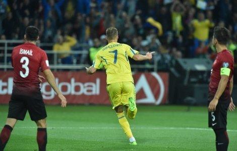 Матч сборных Украины и Турции в Харькове
