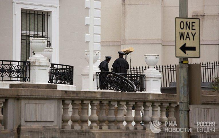 В торгпредстве России в Вашингтоне проходят обыски