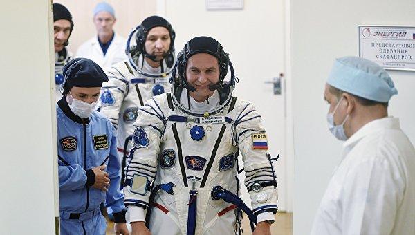 Космонавт Роскосмоса, бортинженер МКС Сергей Рязанский
