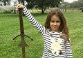 В Британии девочка случайно нашла меч короля Артура