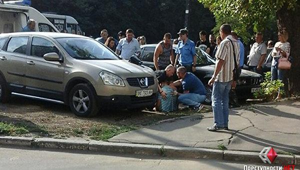 В Николаеве конфликт на дороге закончился стрельбой