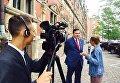Саакашвили покинул территорию Польши и с украинским паспортом поехал в Данию