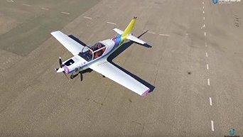 Одесский авиазавод разработал новый легкий самолет Y1 Дельфин. Видео