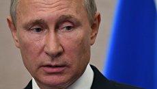 Президент РФ В. Путин на саммите лидеров БРИКС. День второй