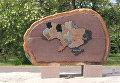 В Никополе мужчина осквернил памятник АТОшникам и похвастался в соцетях