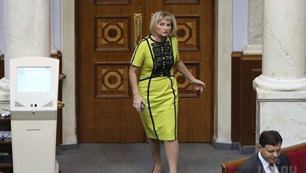 Народный депутат Ирина Луценко. Архивное фото