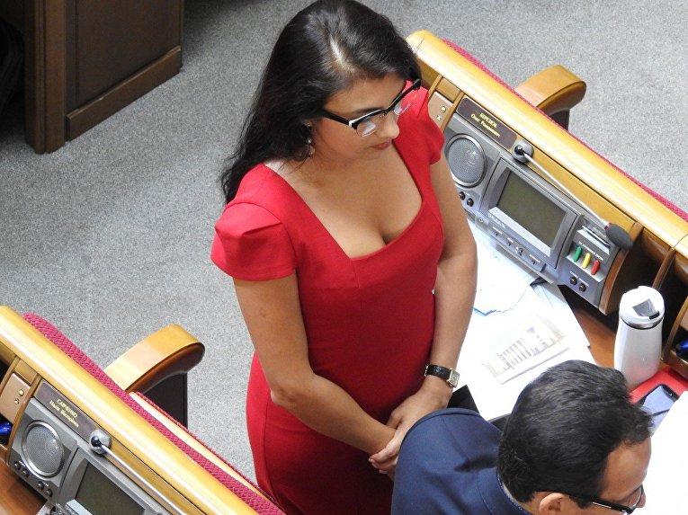 Народный депутат Виктория Войницкая