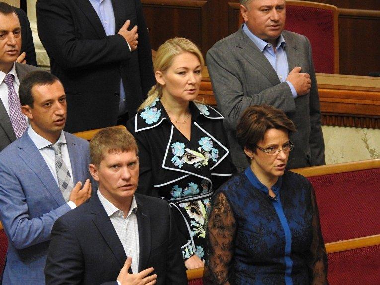 Народный депутат Мария Ионова