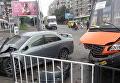 ДТП с участием маршрутного такси во Львове, 6 сентября 2017