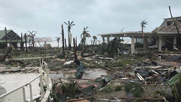 Последствия урагана Ирма на Сен-Мартене