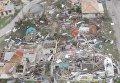 Ураган Ирма уничтожил остров Барбуда в Карибском море