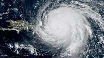 Ураган Ирма в зоне поражения стихии