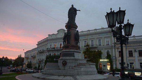 Одесса.Памятник основателям Одессы