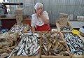 Одесса. Рынок Привоз, рыбный ряд