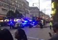 На месте взрыва в Лондоне, 7 сентября 2017