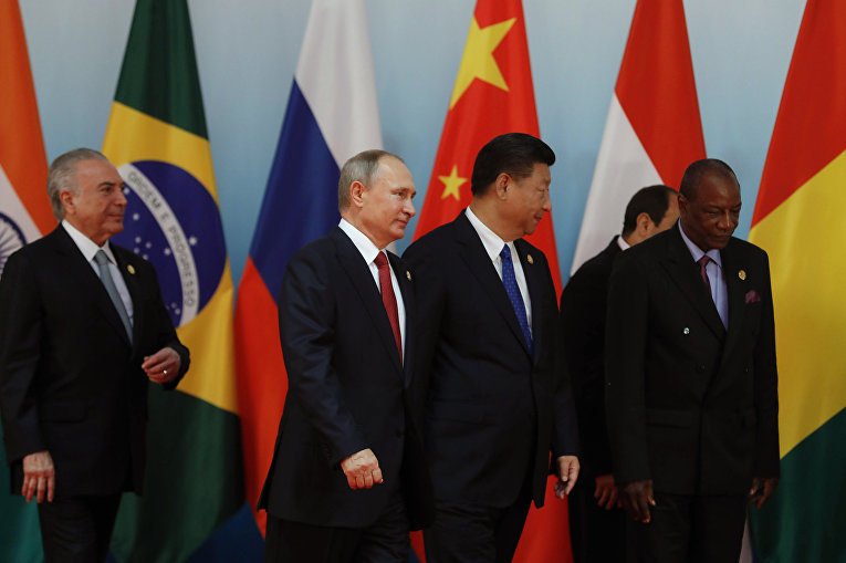 Саммит лидеров БРИКС 5 сентября 2017 года