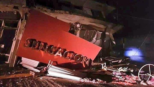 Число жертв землетрясения в Мексике возросло