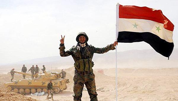 Солдат сирийской армии. Архивное фото