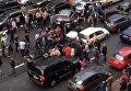 Взрыв авто в центре Киева