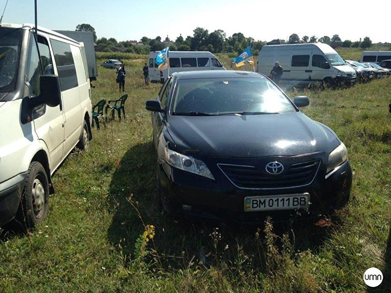 Ситуация в районе пункта пропуска Краковец-Корчева, куда 10 сентября прибудет Михаил Саакашвили