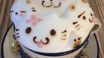 Кофе с потрясающей пенкой