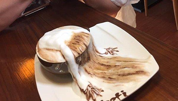 Кофе с потрясающей пенкой. Архивное фото