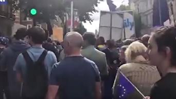 Многотысячный марш протеста против Brexit прошел в Лондоне
