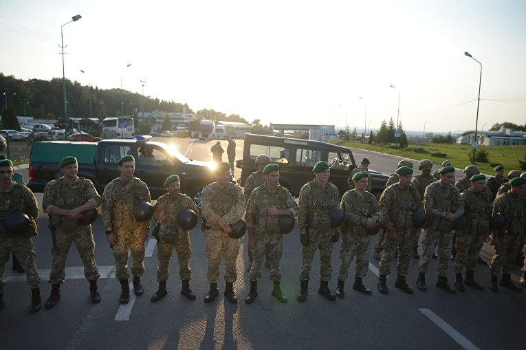 Ситуация на пункте пропуска в Шегинях