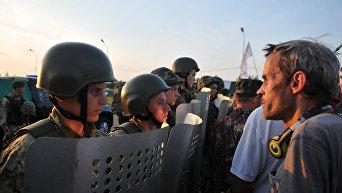 Михаил Саакашвили пересек польско-украинскую границу в пункте пропуска Шегени